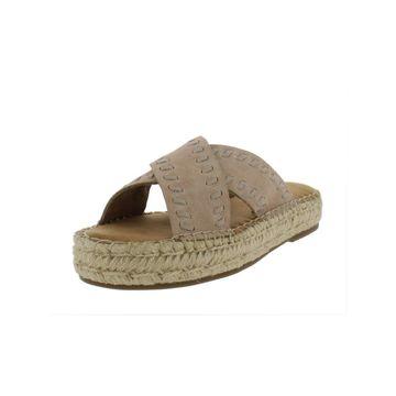 Aerosoles Womens Rose Gold Espadrilles Flatform Sandals
