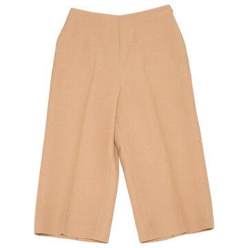 Valentino Beige Wool Trousers