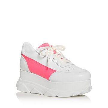 Joshua Sanders Women's Zenith Platform Wedge Sneakers