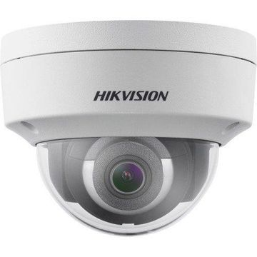 Hikvision EasyIP 2.0plus DS-2CD2123G0-I 2 Megapixel Network Camera - Color - 98.43 ft Night Vision - H.264+, Motion JPEG, H.264, H.265+, H.265 - 1920 x 1080 - 2.80 mm - CMOS - Cable - Dome - Ceiling Mount, Wall Mount, Junction Box Mount, Pendant Mount,...