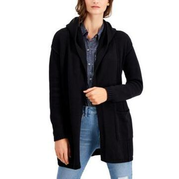 Style & Co Petite Hooded Cardigan, Created for Macy's