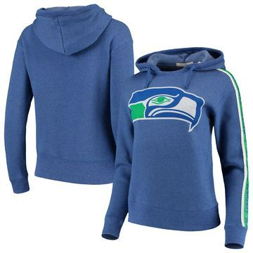 Seattle Seahawks Junk Food Women's Sunday Liberty Pullover Hoodie - Royal