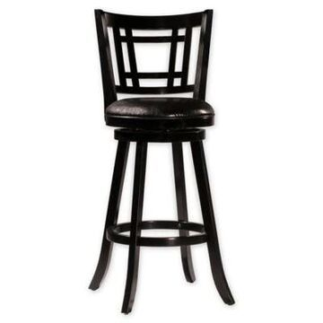 Hillsdale Furniture, Llc. Faux Leather Upholstered Barstool in Black