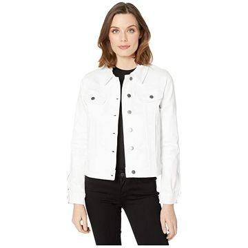 KUT from the Kloth Rene Jacket (Optic White) Women's Clothing