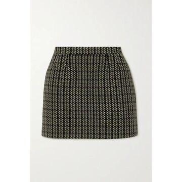 REDValentino - Wool-blend Tweed Mini Skirt - Black