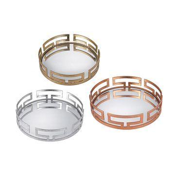 Sterling Heavy Metal Set of Trays