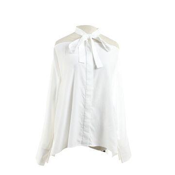 Valentino White Cotton Tops