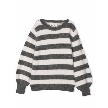 Douuod Striped Sweater