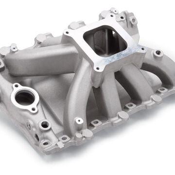 E11-2894 Victor Jr. Carbureted Intake Manifolds, Black