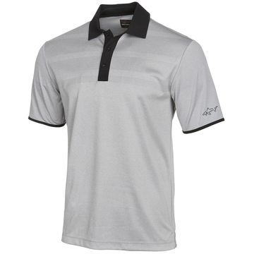 Men's Engineered-Stripe Performance Polo, Created for Macy's