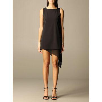 Patrizia Pepe short dress with drapery