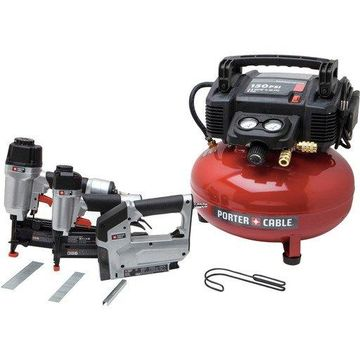 Porter-Cable PCFP12234 3-Tool Finish Nailer & Brad Nailer Combo Kit