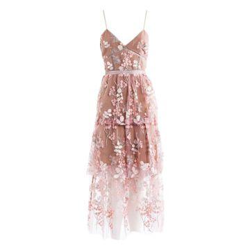 Self Portrait Pink Polyester Dresses