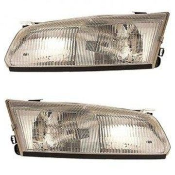 Headlight - DEPO Fit/For TO2503117; TO2502117 97-99 Toy Camry Head Lamp Assembly Pair Left and Right CAPA