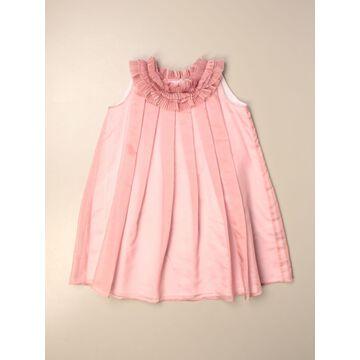 Il Gufo dress with micro ruffles
