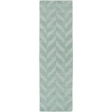 Artistic Weavers Central Park Carrie 2-Foot 3-Inch x 10-Foot Runner in Teal