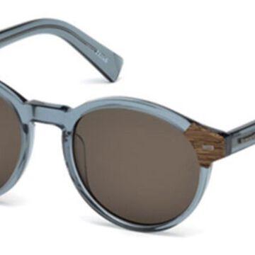 Ermenegildo Zegna EZ0081 84E Men's Sunglasses Blue Size 51