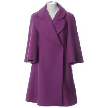 Sonia Rykiel \N Purple Wool Coats