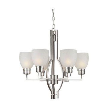 Forte Lighting 2555-06 6 Light Chandelier
