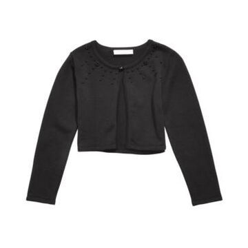 Bonnie Jean Toddler Girls Cotton Embellished Cardigan