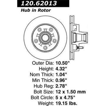StopTech 126.62013SR StopTech Sport Rotors
