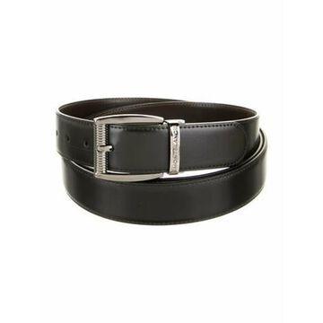 Leather Belt w/ Tags Black