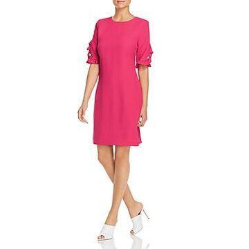 Karl Lagerfeld Paris Ruffle Sleeve Dress