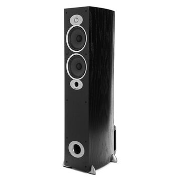 Polk Audio RTiA5 Compact High Performance Floorstanding Speaker - Each (Black)