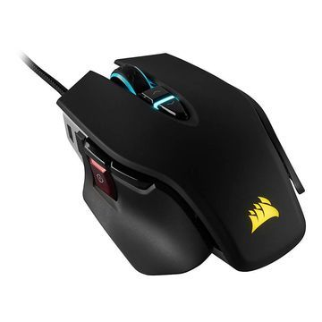Corsair M65 RGB ELITE Tunable FPS Optical Gaming Mouse, Black