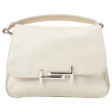 Tod's Ecru Leather Handbags
