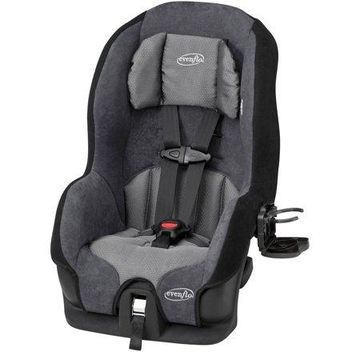 Evenflo Tribute LX Harness Convertible Car Seat, Solid Print Gray