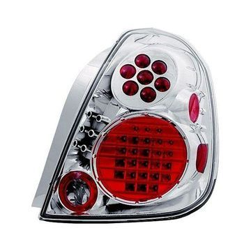 IPCW LEDT-1111C Crystal Clear LED Tail Lamp - Pair