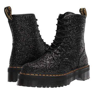 Dr. Martens Jadon Glitter (Black Chunky Glitter) Shoes