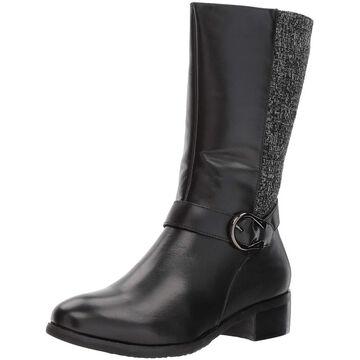 Propet Womens Tessa Fabric Closed Toe Mid-Calf Fashion Boots