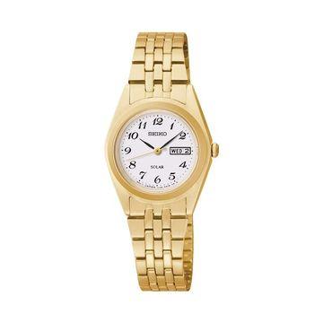 Seiko Women's Stainless Steel Solar Watch - SUT118