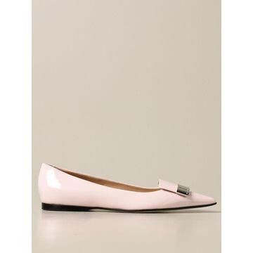 Sr1 Sergio Rossi patent leather ballerina