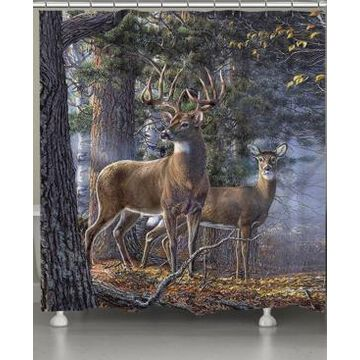 Laural Home Cold Snap Shower Curtain Bedding