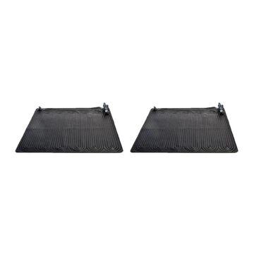 Intex Intex 28685E Above Ground Swimming Pool Water Heater Solar Mat, Black (2 Pack) | 126602