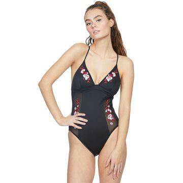 Seafolly Eastern Rose Scuba One Piece Swimsuit