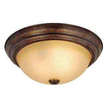 Vaxcel Lighting CC25111RBZ Saturn Flush Mount, Royal Bronze