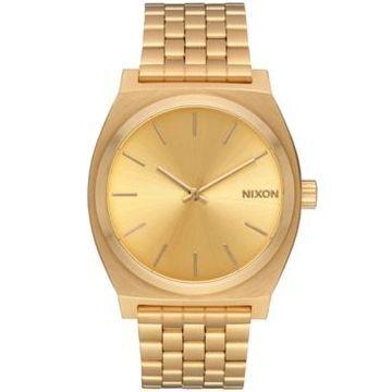 Nixon Time Teller Stainless Steel Bracelet Watch 37mm