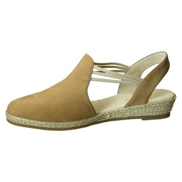 David Tate Womens Nelly Leather Closed Toe Casual Espadrille Sandals