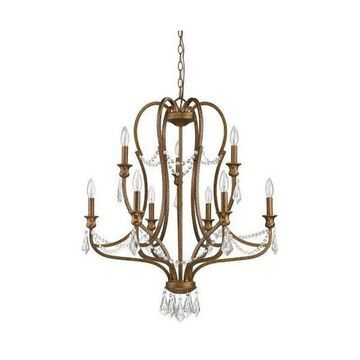 Acclaim Lighting IN11035 Gianna Chandelier, Russet