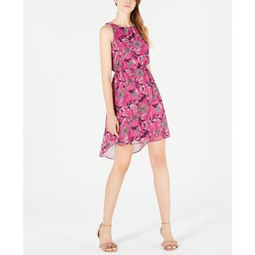 Floral-Print A-Line Dress, Created for Macy's