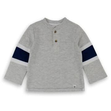 Sovereign Code Size 18M Henley Shirt in Grey