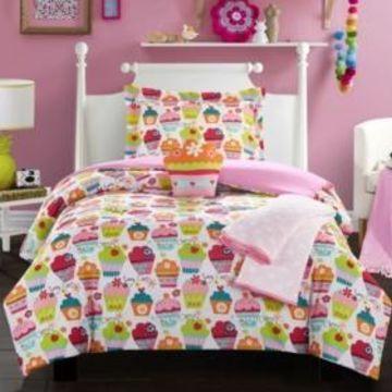 Chic Home Tasty Muffin 5 Piece Full Comforter Set Bedding