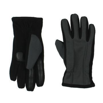 Isotoner Mens Fleece Lined Touch Screen Winter Gloves