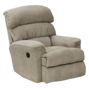 Chaise Rocker Recliner in Linen