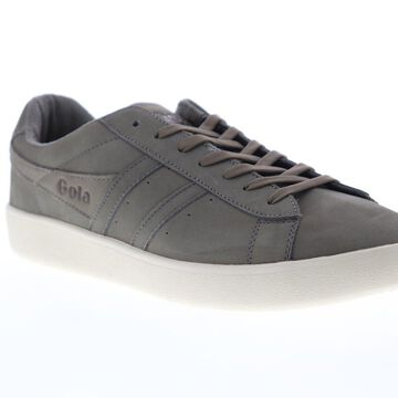 Gola Aztec Nubuck Mens Gray Retro Lace Up Low Top Sneakers Shoes