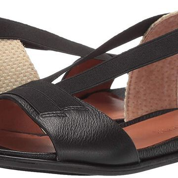 Gentle Souls Women's Lark Elastic Flat Sandal